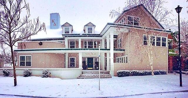 The Kappa Delta house on Alder Street