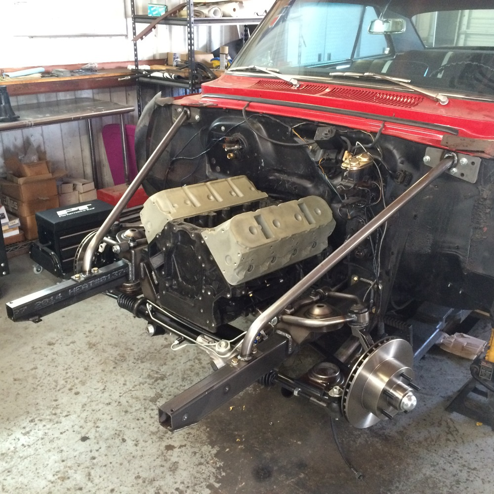 Mockup LS Engine