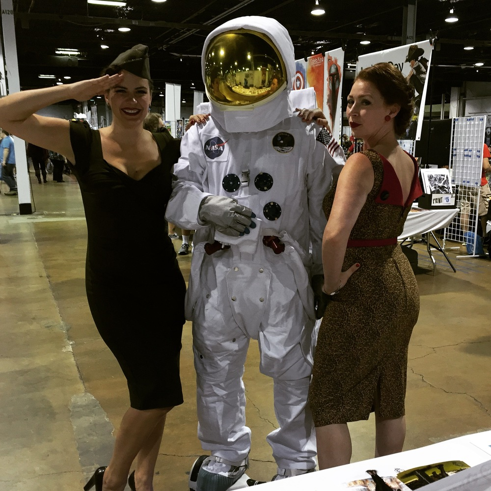 Ada and I found an astronaut