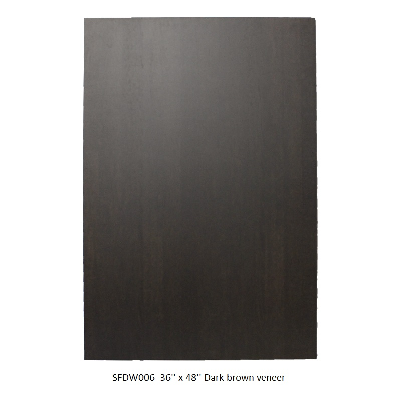 SFDW006  36_ x  48_ Dark brown veneer  .JPG