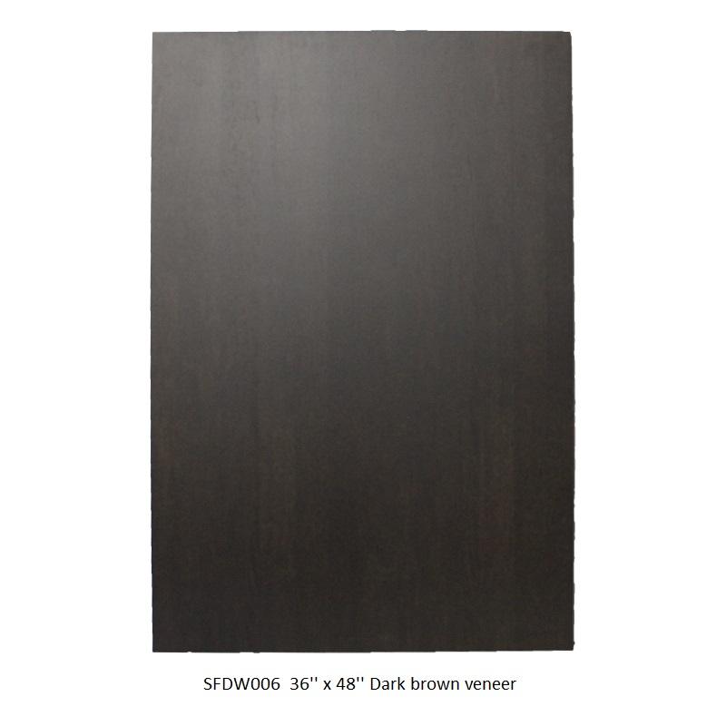 SFDW006  36_ x  48_ Dark brown veneer  .JPG