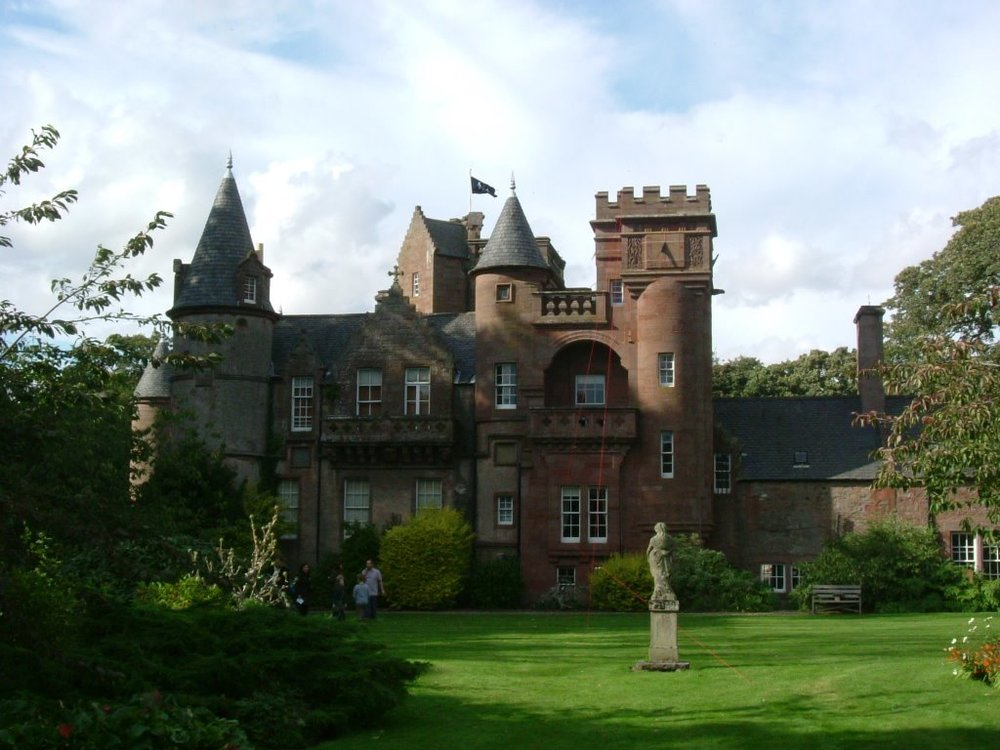 Hospitalfield House, Arbroath, Angus, Scotland