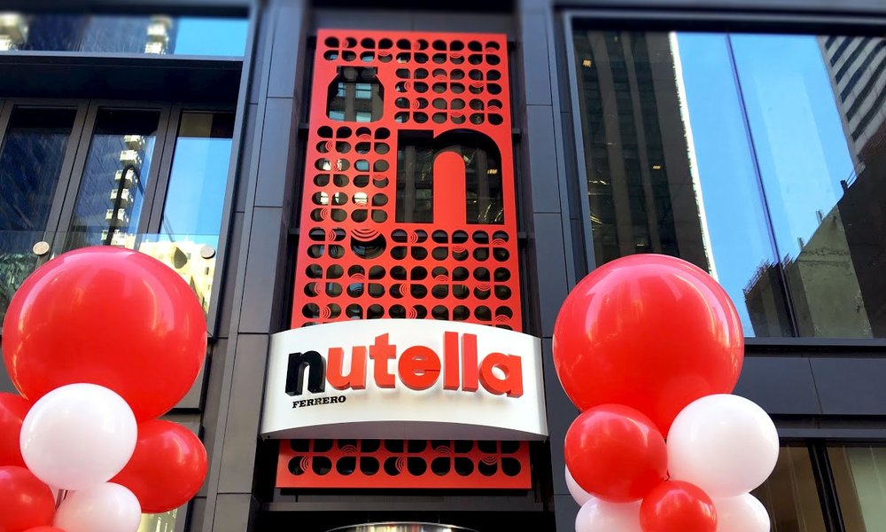 Nutella Cafe: Grand Opening - Creating a new kind of customer experience