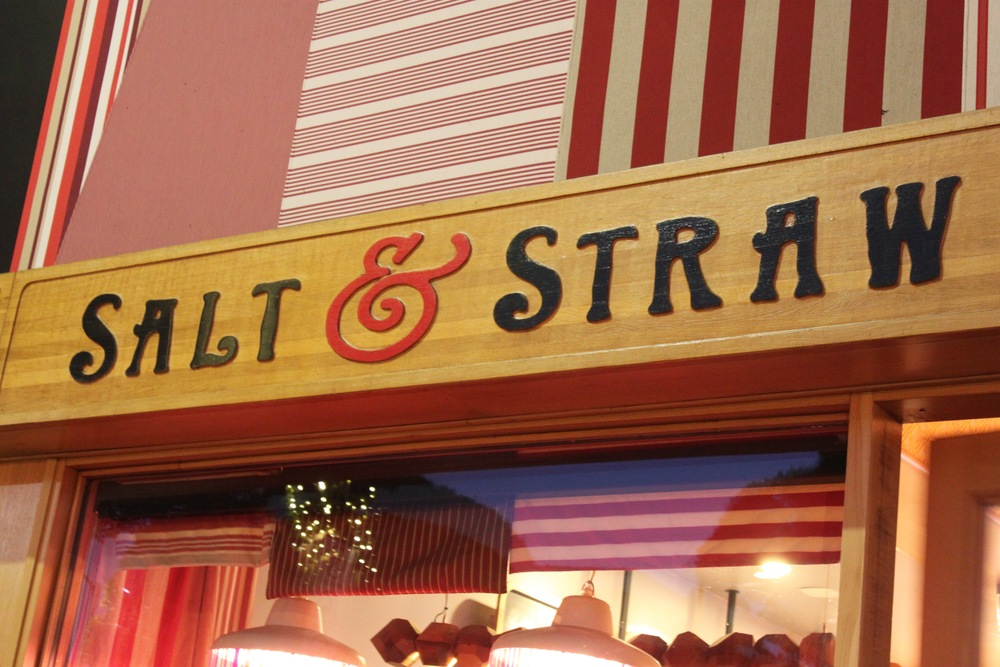 1. Salt and Straw - Hailing from Portland, this ice cream shop is known for their innovative flavors (Strawberry and Verbena Pimm's Cup for an example) and the seasonally changing menu based on