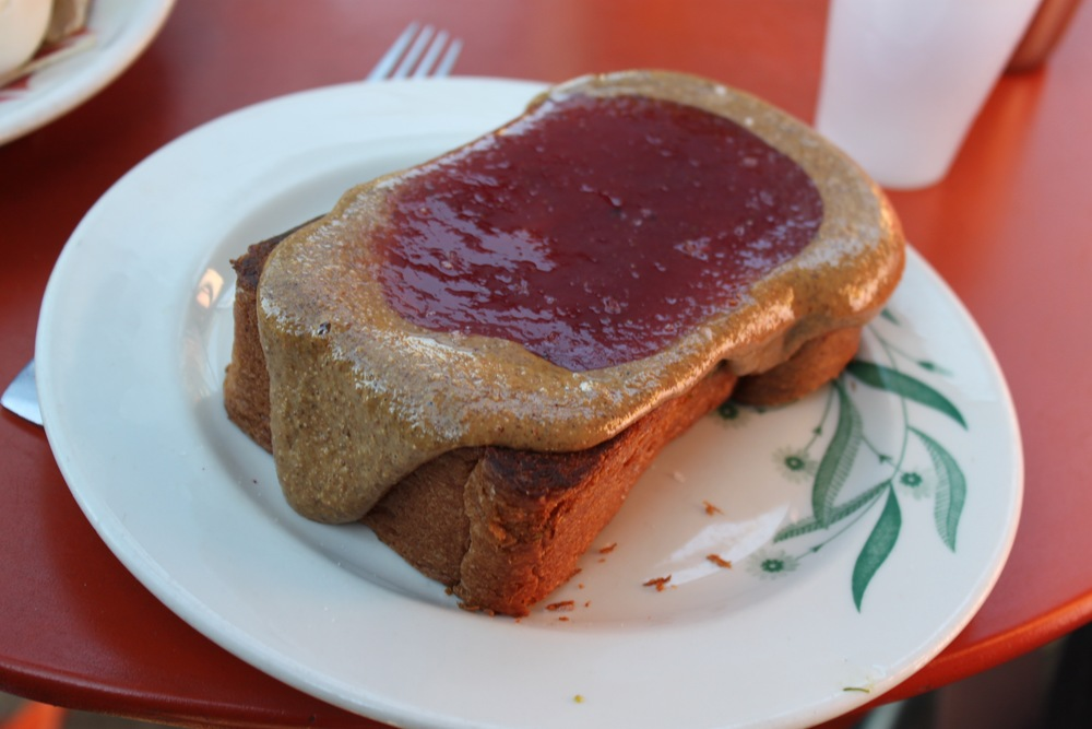 5. Sqirl - House made toast, jam and freshly milled almond butter. Sqirl is instagram famous for its delectable creations that create the instant need for customers to share and tag their meals.