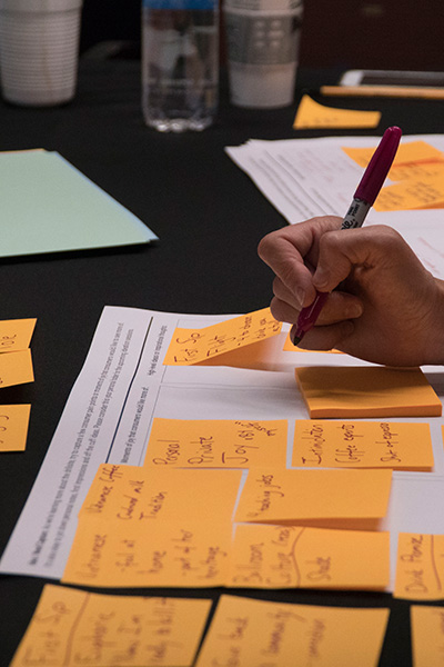 TREND IMMERSION WORKSHOP - Workshops and dynamic ideation sessions are immersive experiences that are tailored based on the trend research.Learn More >