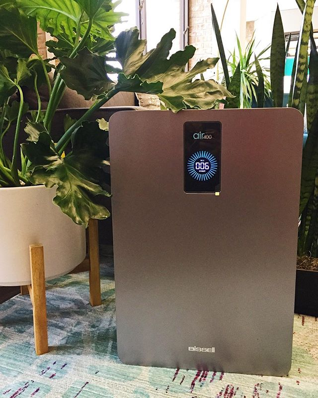Thanks to our clients @bissellclean for sending us two of their new Air400 air purifiers for our office! We're already breathing cleaner and thinking clearer ✨