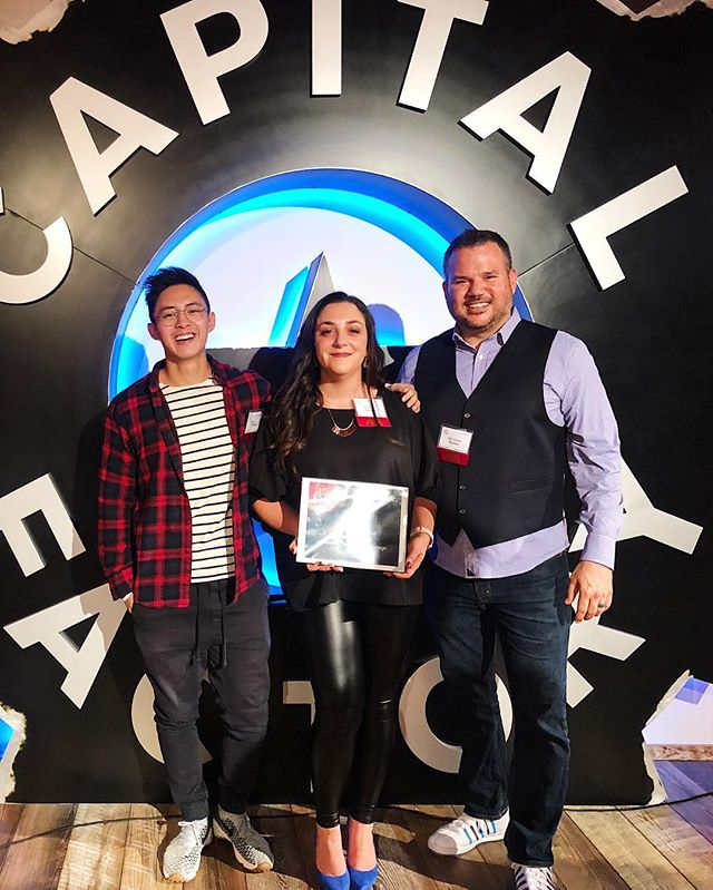 Honored to be recognized last Friday for our trend and innovation work at @austin_inno 2018 50 on Fire in the Marketing, Advertising and Design category! ✨
