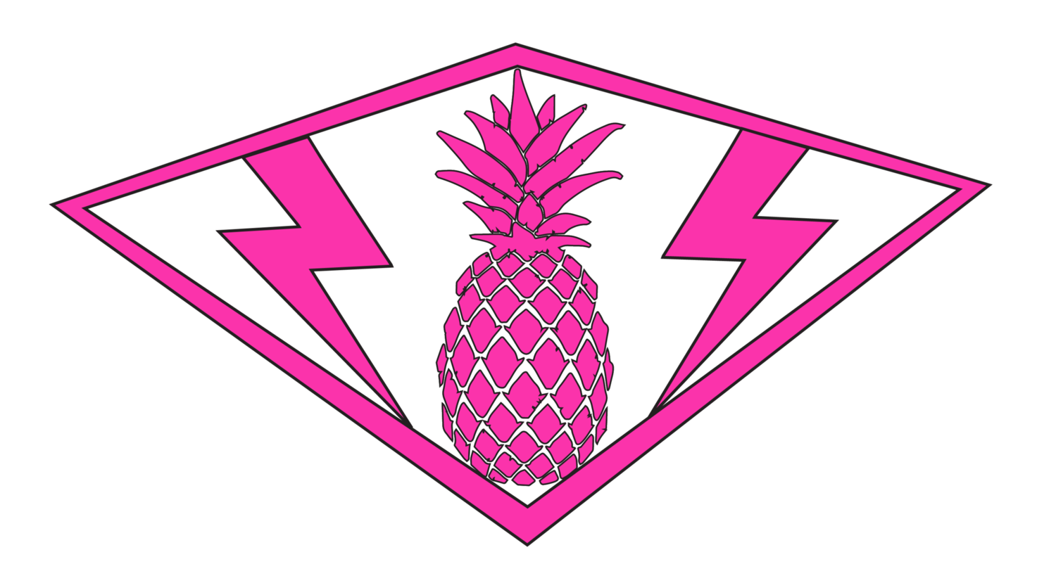 Pink Pineapple Surf