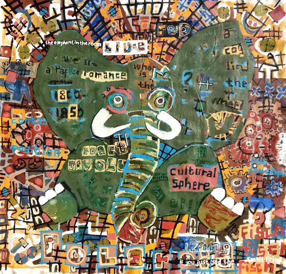 The Polarizing Elephant in the room, 72x71