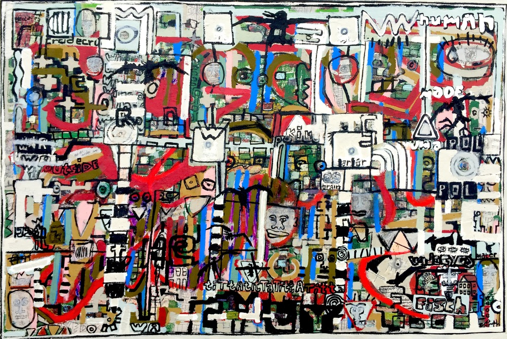 Components of Pollution, 36.5x55