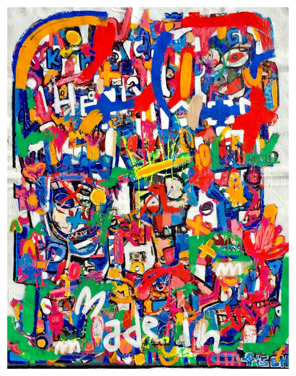 """Franky Goes To Hollywood, 65x52"""""""