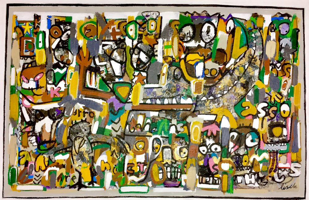Primal Nocturnal 41x66""