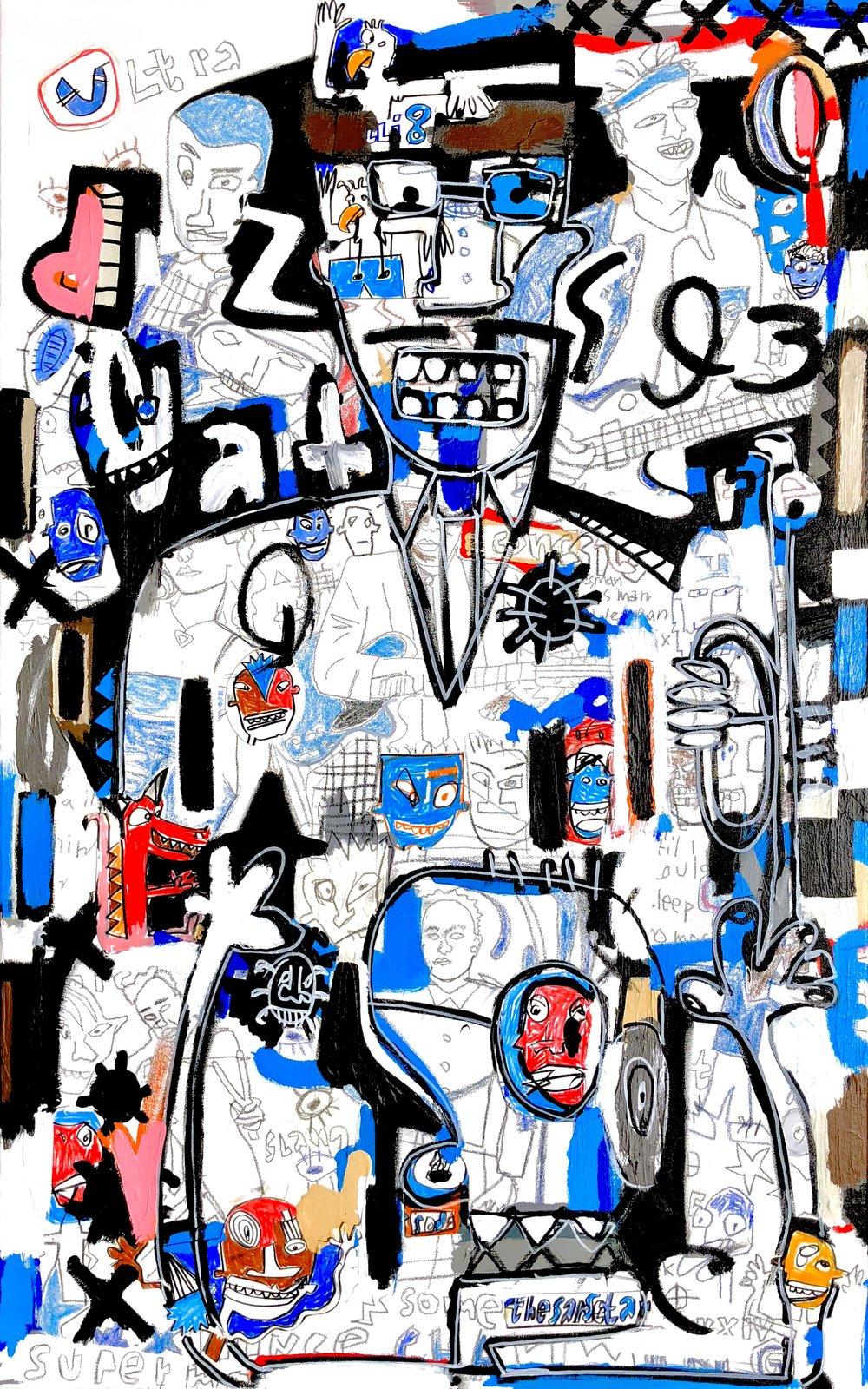 "American Jazz, 48x30"""