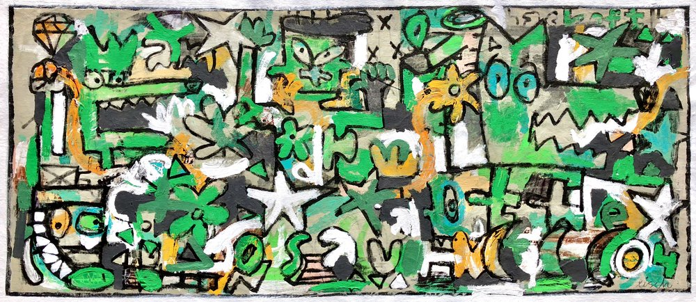 """Mare's Nest, 29x67"""""""