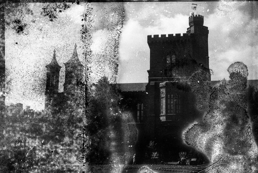 Nikon FE - Kodak Tri-X Pan, expired, moldy, double exposed