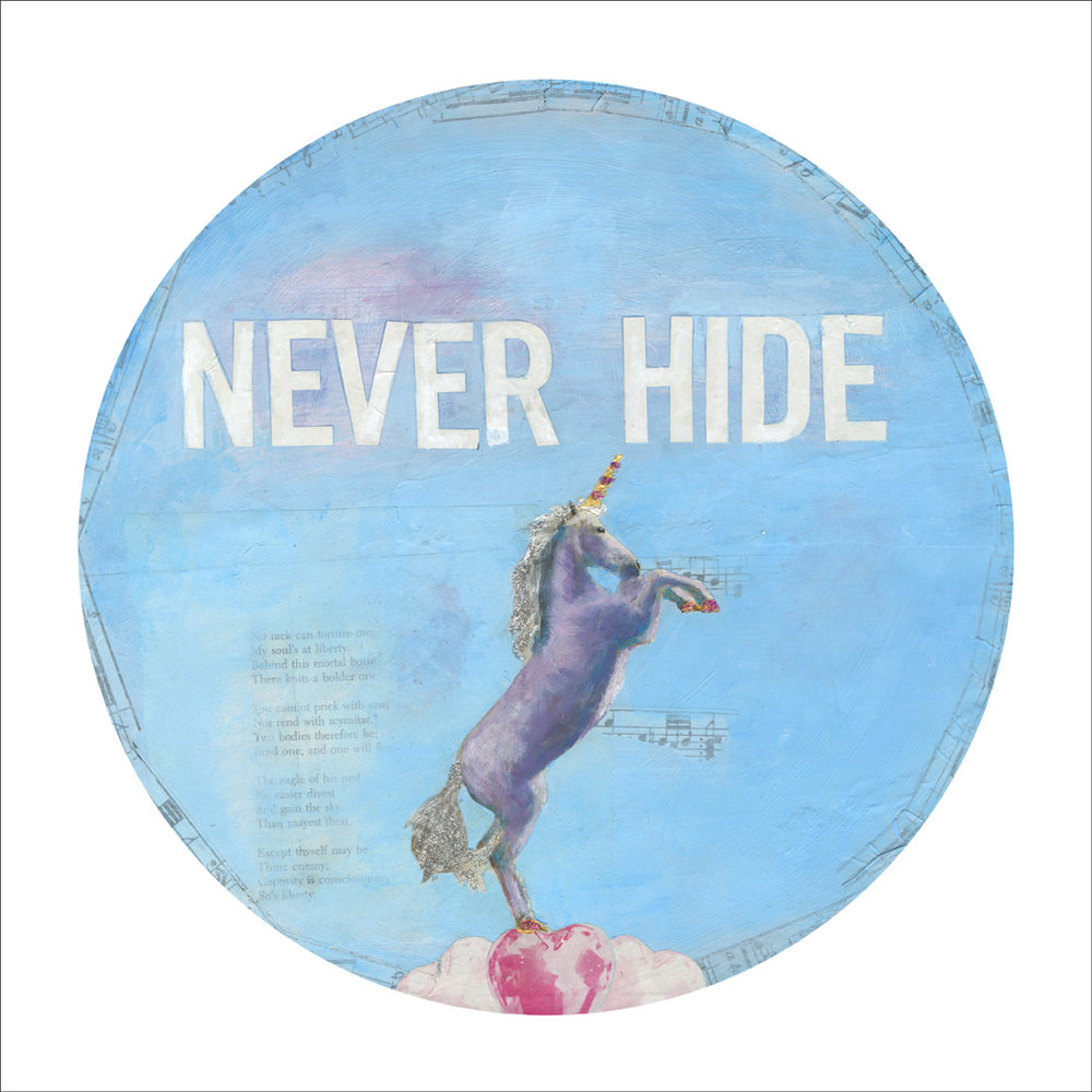 Never Hide_Mixed Media on Vinyl_2016.jpg