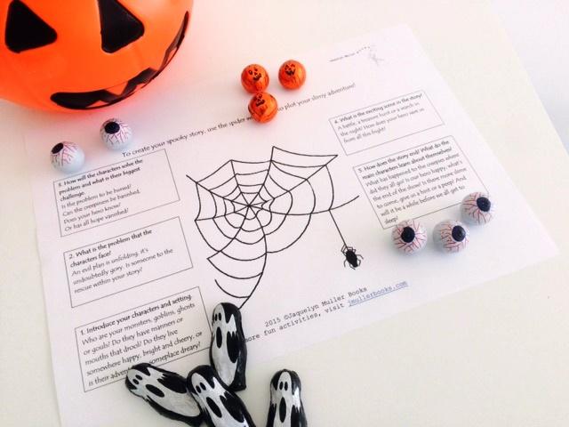 JMullerBooks Halloween story arc