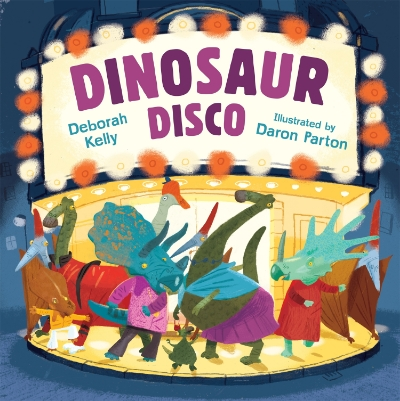 Jaquelyn Muller Books reviews Dinosaur Disco