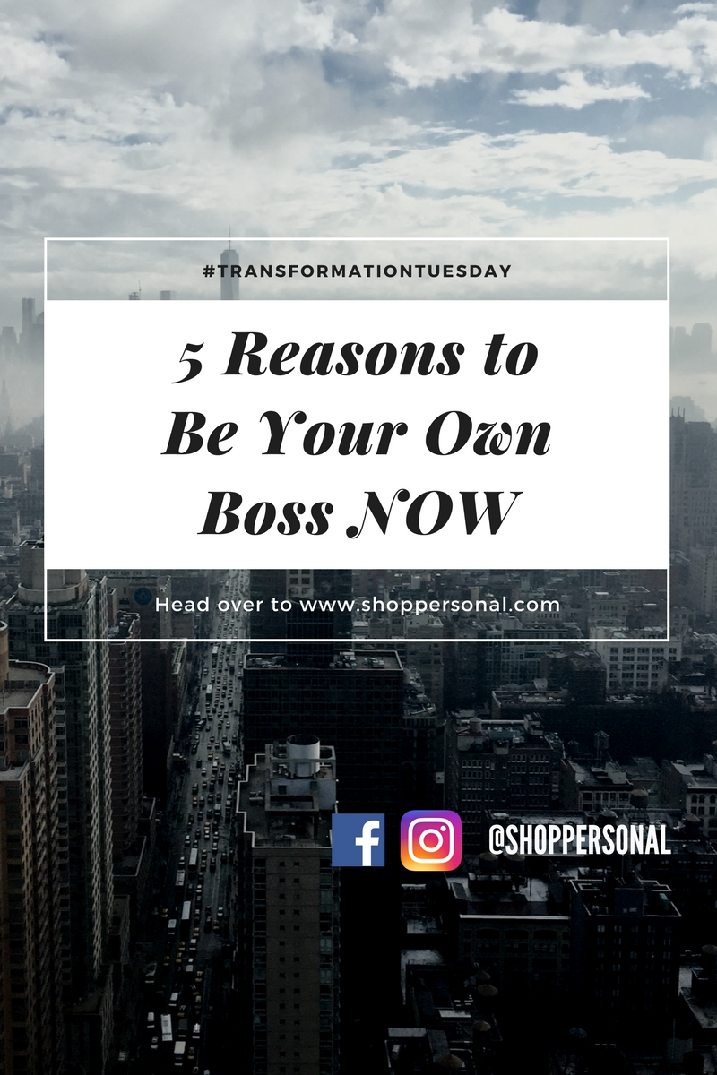 ready to launch your next great idea? Learn our 5 reasons why you should be your own boss now! Read more.