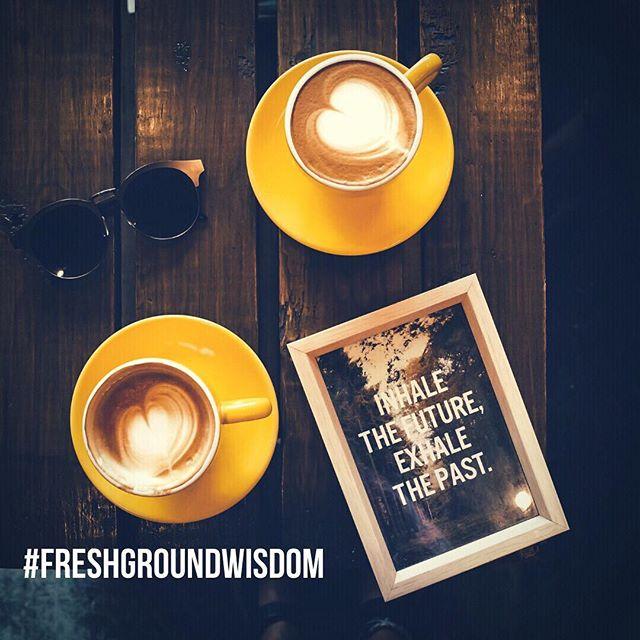 Tuesday morning wisdom 🧘♀️ ⠀ .⠀ .⠀ .⠀ #meditate #tuesdaymorning #wisdom #inhaleexhale #future #progress #sustainable #freshgroundwisdom #sustainabilitydevelopmentgoals #equalrights #humanitarian #shoppersonal #liveyourlife #coffee #americano #espresso #cafe