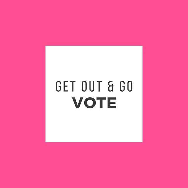 OCTOBER 17th is the first day to vote! EARLY! Skip the line thru November 3rd! Are you registered to vote? Bring your picture ID & proof of residence (such as a utility bill) for same-day-registration. There are no excuses! Voting is incredibly important this year. GET A MOVE ON!
