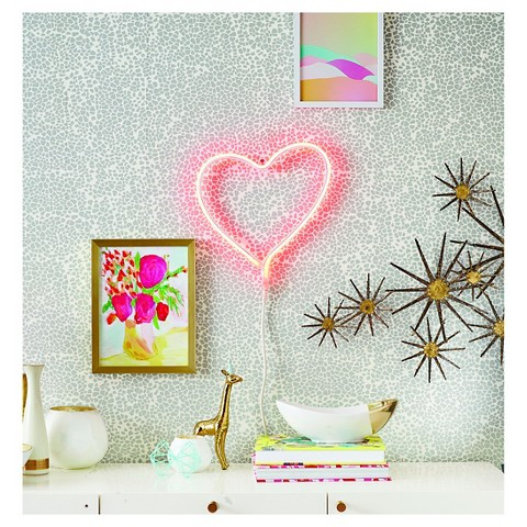 Oh Joy's  neon heart for Target  (sold out in less than a month!)