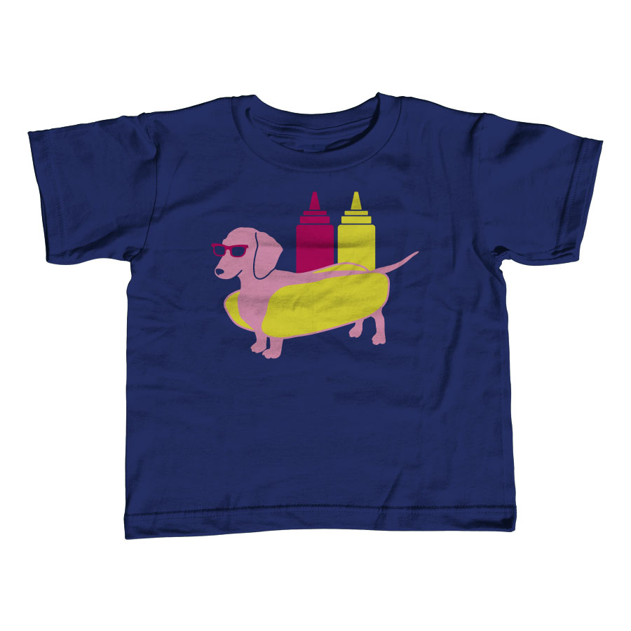 Hot Dog Toddler Tee