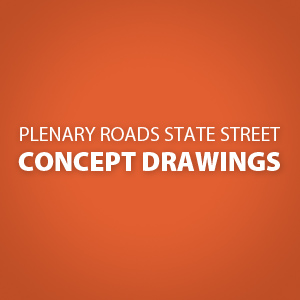 Plenary Roads State Street Landscape Architecture, Streetscape and Placemaking Concept Drawings [zip - 69 MB] - filenames updated for clarity & posted 1/28/16