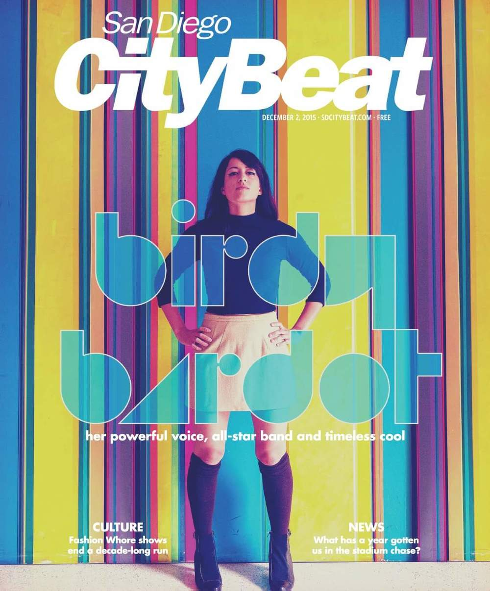Read the cover feature of The San Diegvo CityBeat...It's all about Birdy!