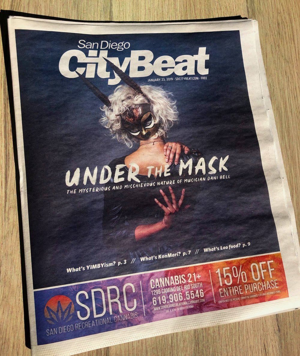 Check out SD CityBeat's cover story on Dani Bell and the Tarantist!