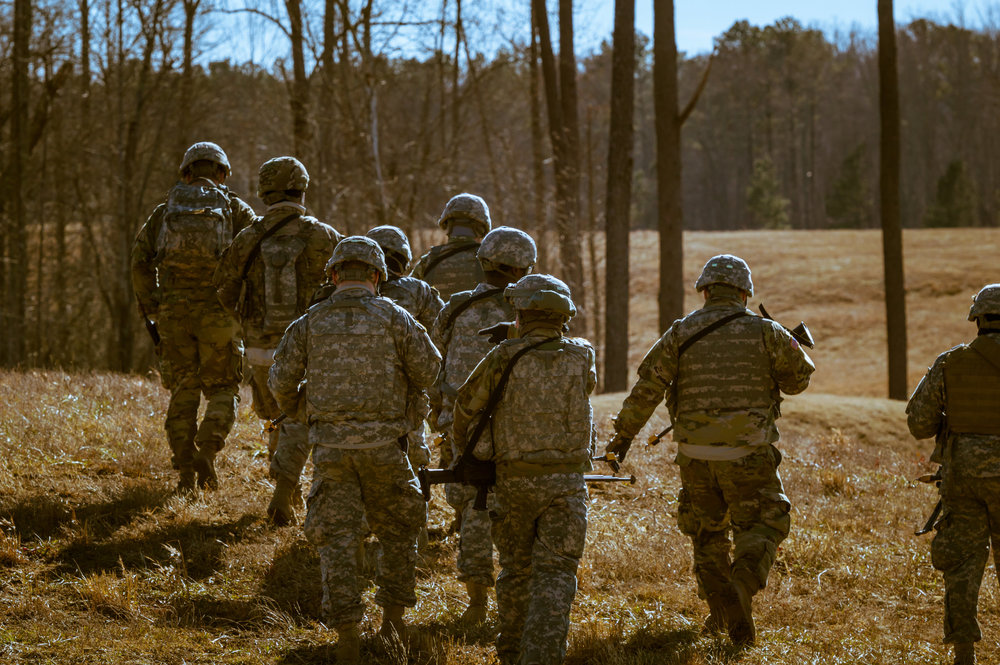 FORT PICKETT - Army National Guard Soldiers train at Fort Pickett in Blackstone, Virginia.