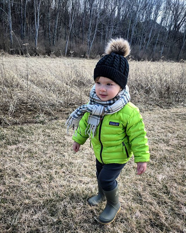My little adventurer 💚