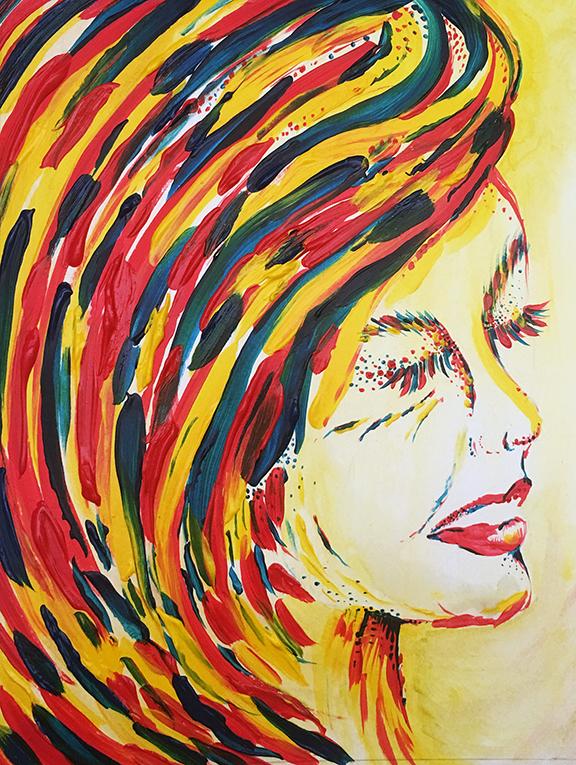Self-Portrait in Technicolor