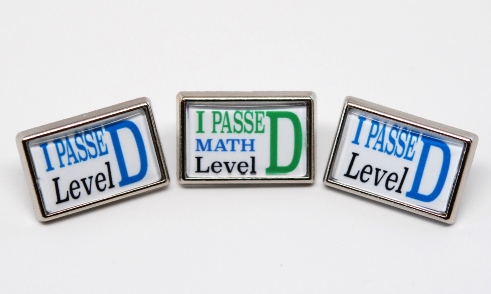 Achievement Pins
