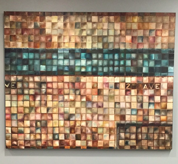 """2nd Ave. 60""""x48"""", 2014, oil on canvas"""