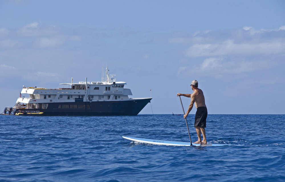 Paddleboard across from your room Photo courtesy of UnCruise