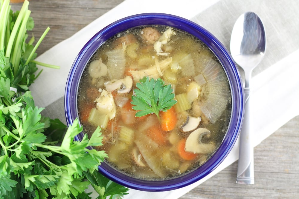 Paleo Chicken Vegetable Soup
