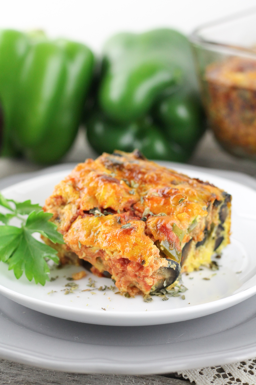 Paleo Egg Bake, Pizza Egg Bake, Healthy, Paleo, Real Food, Whole30, Recipes, Breakfast, Pizza Lovers