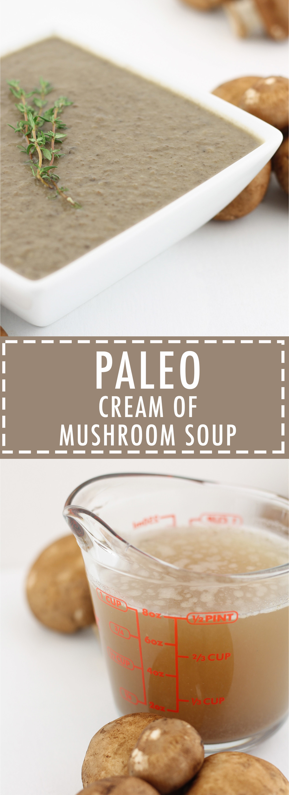 Paleo Cream Of Mushroom Soup, Healthy, Paleo Recipes, Gluten Free, Dairy Free, Grain Free, Primal, Whole30