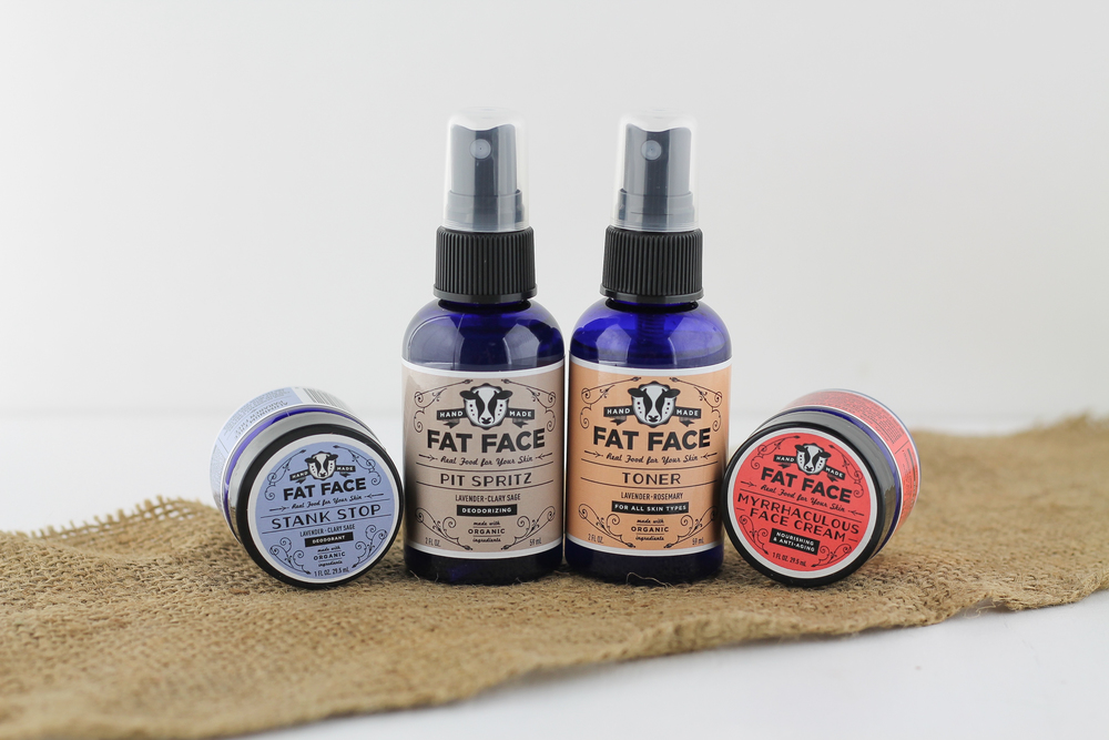 Fat Face Skincare, Fatco, Natural Skincare, Natural Beauty, Paleo Skincare
