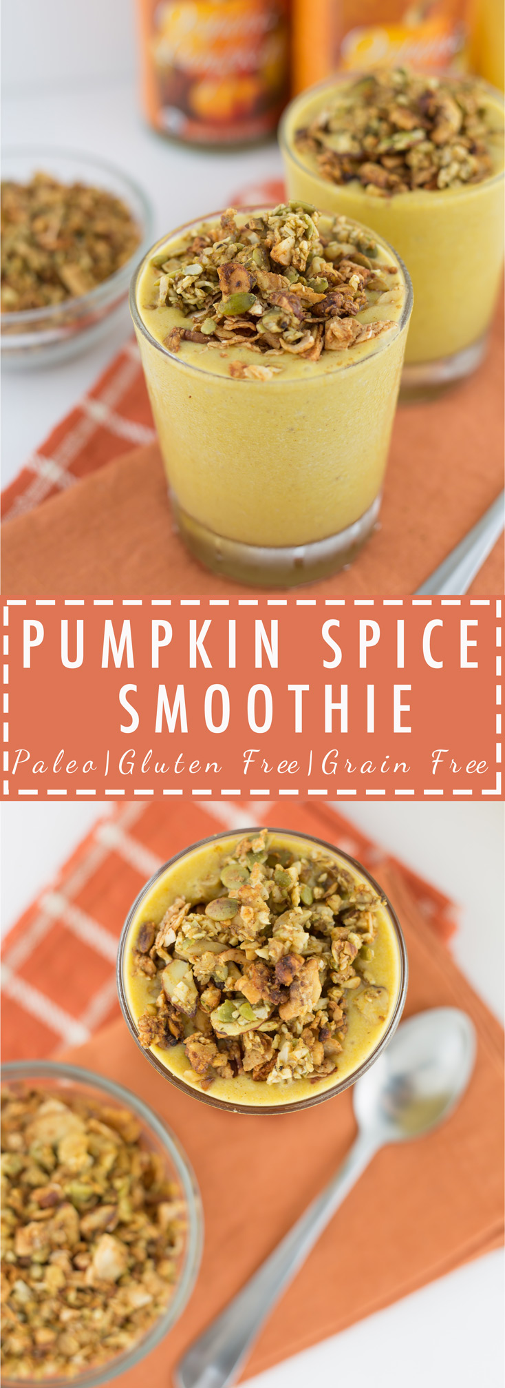 Paleo, Pumpkin Sice Smoothie, Primal, Grain Free, Gluten Free, Added Sugar Free, Healthy, Clean
