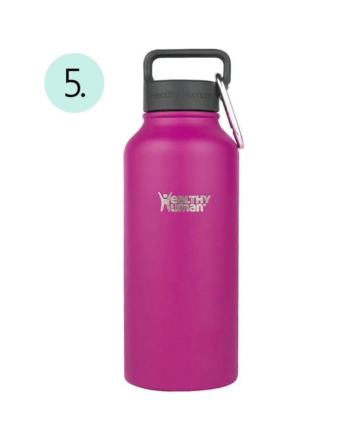 Healthy Human Stein, Stainless Steel, Odor Free, Vacuum Sealed, Multicolor, No Sweat Favorite Water Bottle, Take It With You