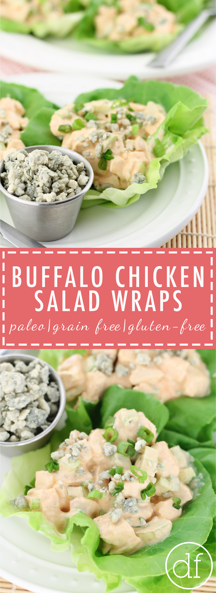 Buffalo Chicken Salad, Chicken Salad, Whole30, 21DSD, Chicken, Non-processed, Quick Dinner, healthy dinner, lunch recipe