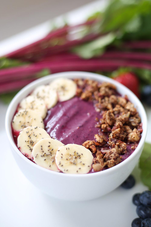 smoothie bowl, paleo, grain free, gluten free, dairy free, vegan, define fettle,