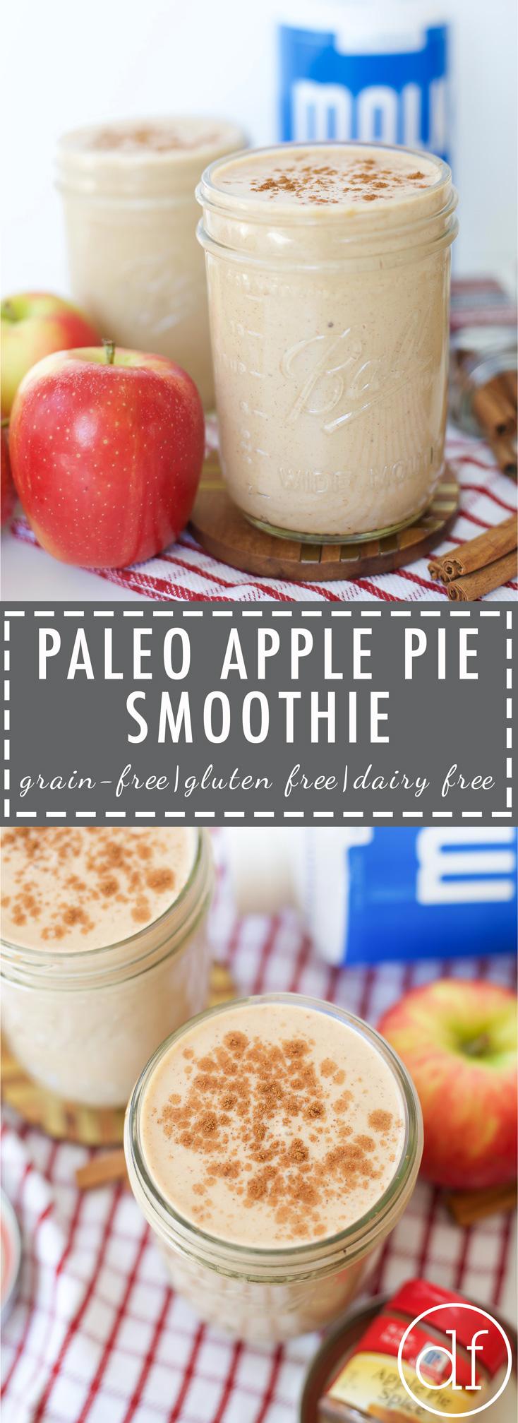 Define Fetttle, Apple Pie Smoothie, Apple Pie, Paleo, Gluten Free, Grain Free, Dairy Free, Primal, Whole30, Paleo Recipes, Real Food, Malk Organics