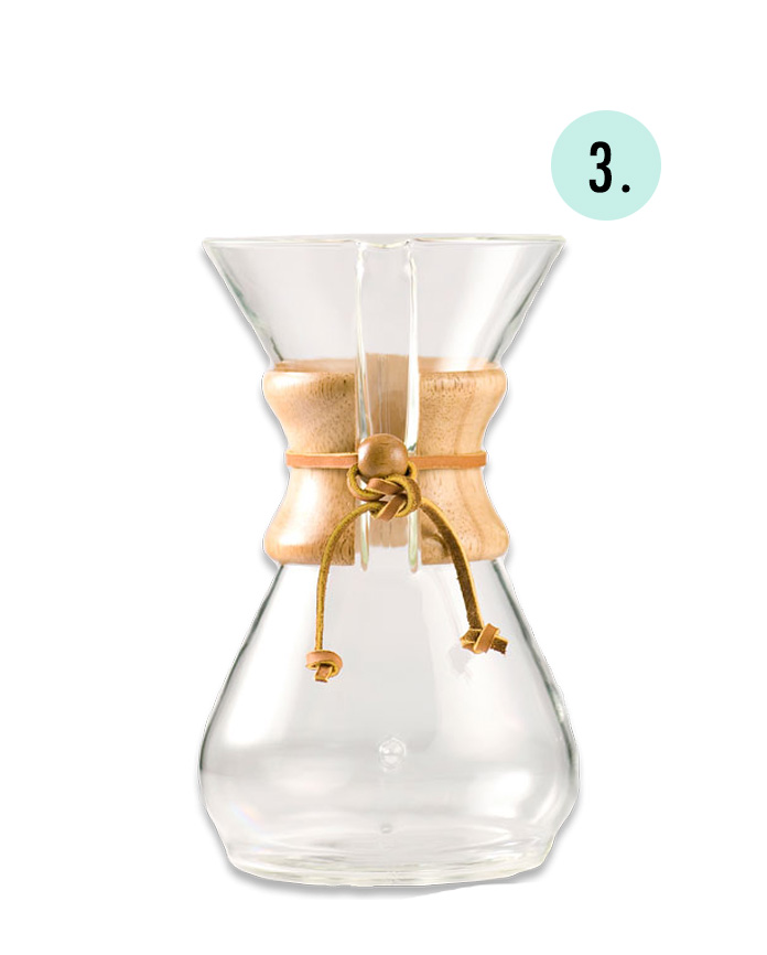 Chemex, pour over coffee maker, define fettle, gift guide, holiday gift guide, healthy gift guide