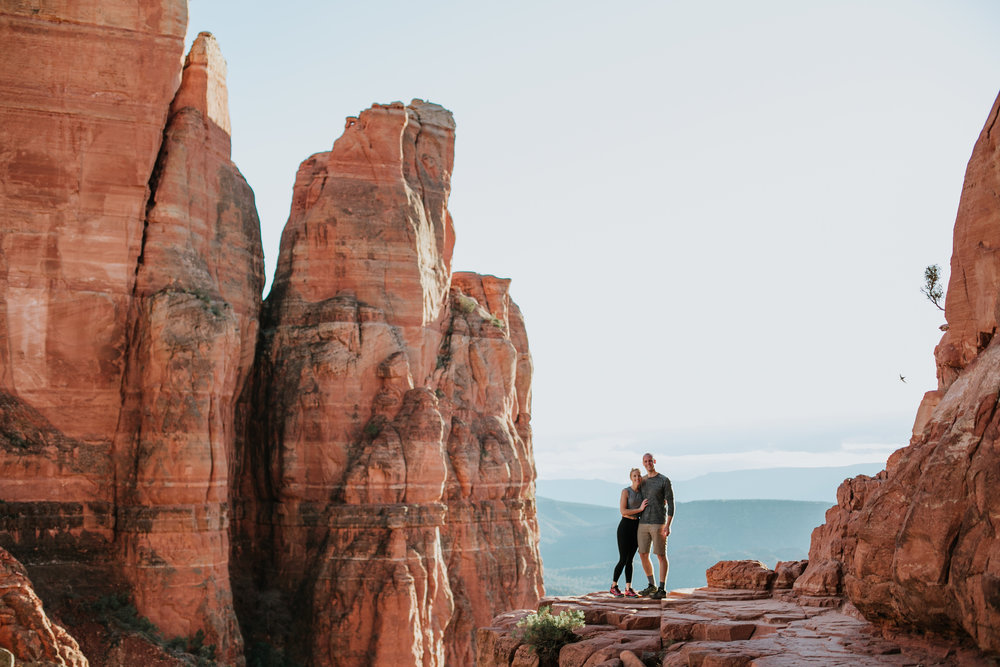 Cathedral Rock, Cathedral Rock Engagement, Cathedral Rock Proposal, Sedona Proposal,