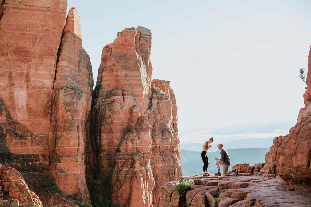 Cathedral Rock, Cathedral Rock Proposal, Sedona,