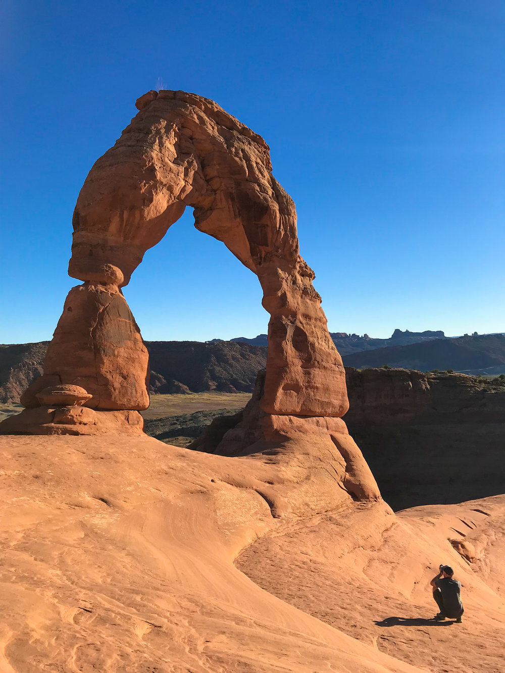 Photographer, Delicate Arch, Photos, Red Rocks, Arches, National Park, Define Fettle, Define Fettle Travels